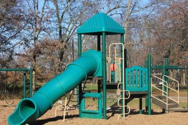 Bellevue State Park Playground Iowa Slide Usa Play